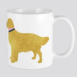 Preppy Golden Retriever Mug